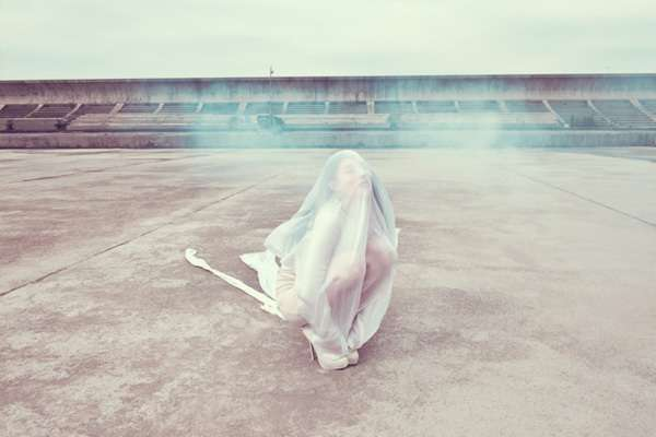 Cocooned Girl Captures