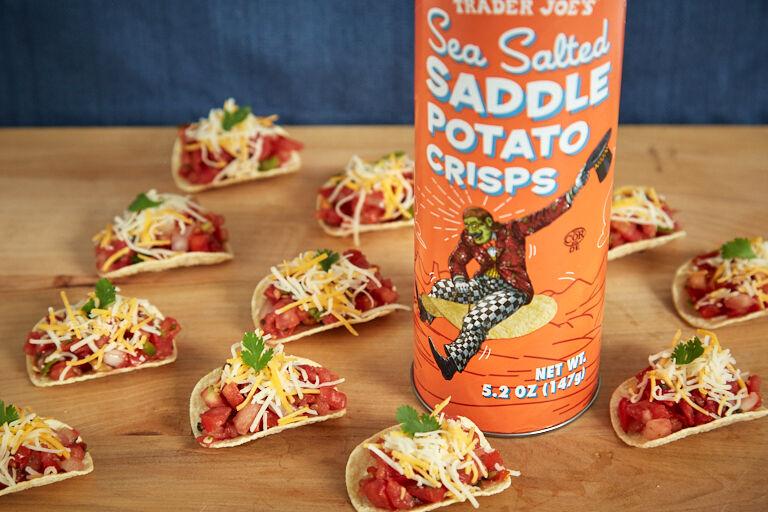 Saddle-Shaped Potato Chips