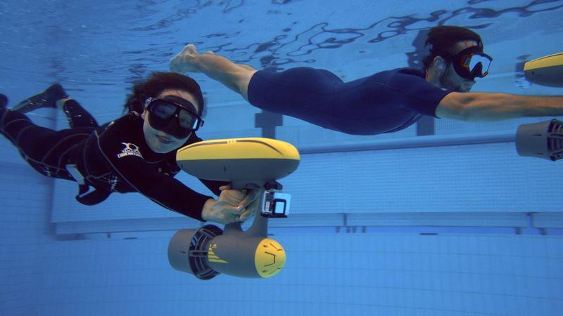 Modular Underwater Scooters