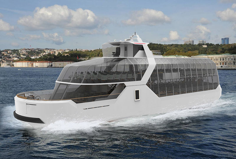 Solar Electric Panoramic Ferries