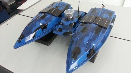 Upside-Down Ocean Drones