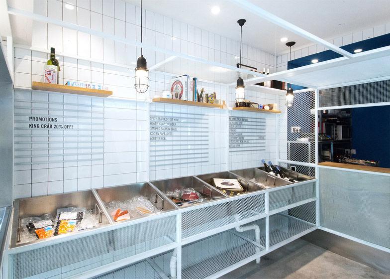 Marina Inspired Seafood Shops Seafood Shop