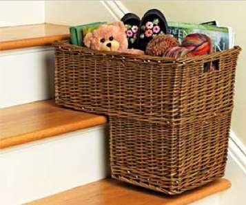 Helpful Wicker Home Organizers