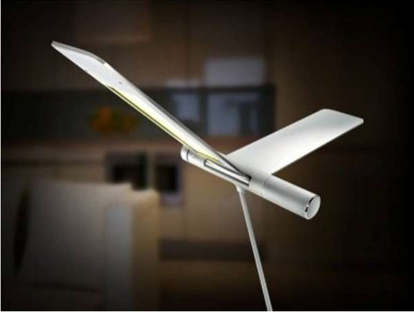 Flying Bird Lamps
