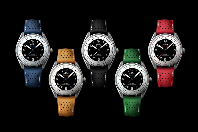 Colorful Olympic-Focused Watches