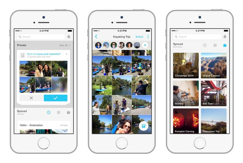 Seamless Photo-Sharing Apps