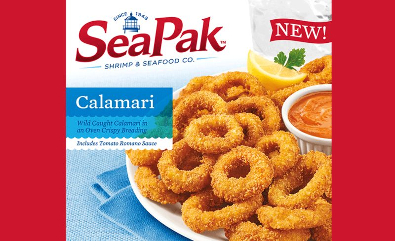 Sustainably Sourced Calamari Snacks