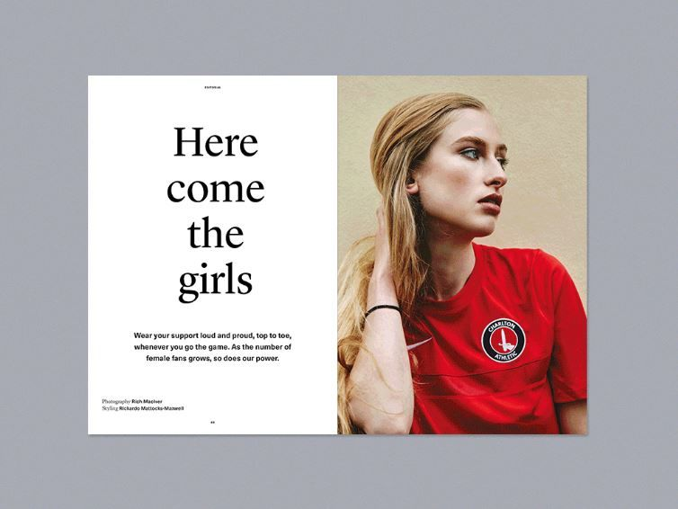 Female-Centric Soccer Zines
