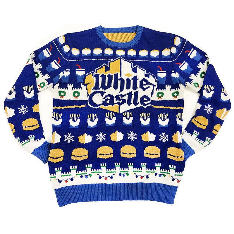 Festive Fast Food Sweaters
