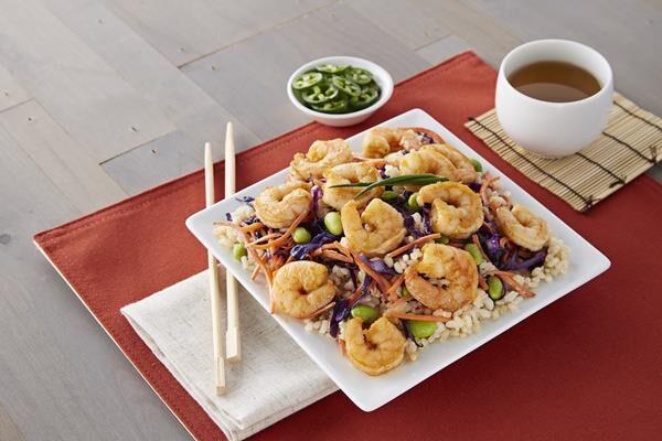 Meal-Ready Seasoned Shrimp
