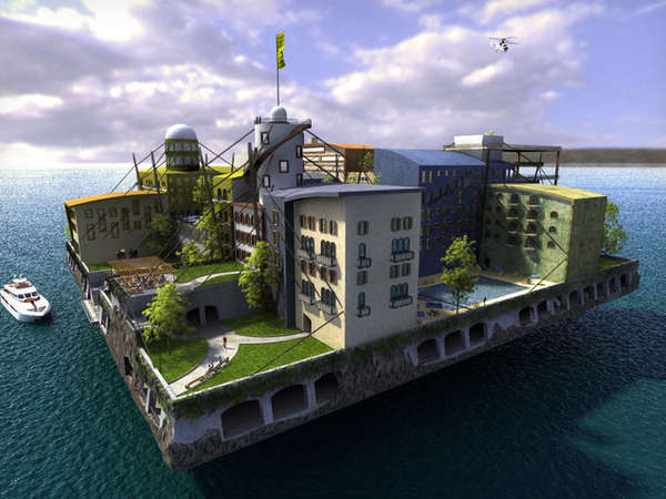 Independent Floating City-States