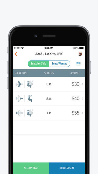 Seat-Swapping Travel Apps