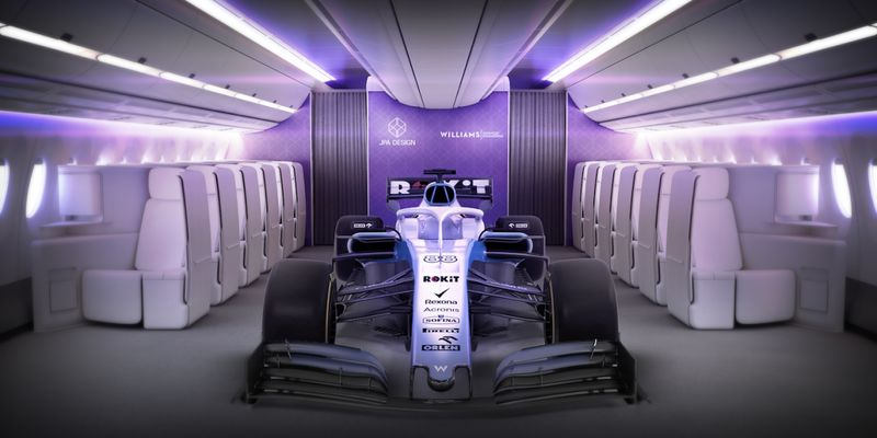 Race-Inspired Airline Seating Concepts