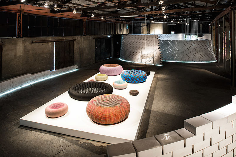 Shoe-Inspired Seating Pods