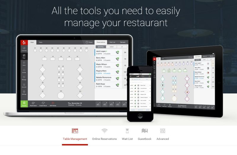 Restaurant Management Apps SeatMe - Table management app