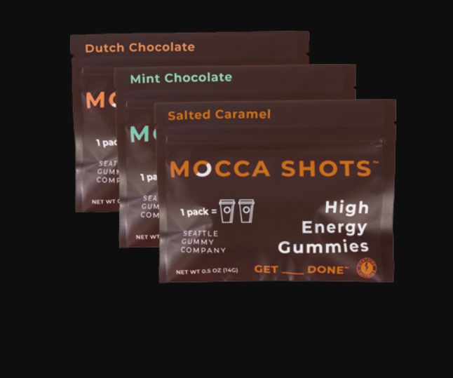 Functional Caffeinated Gummies