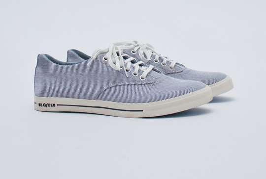Simplistic Striped Shoes