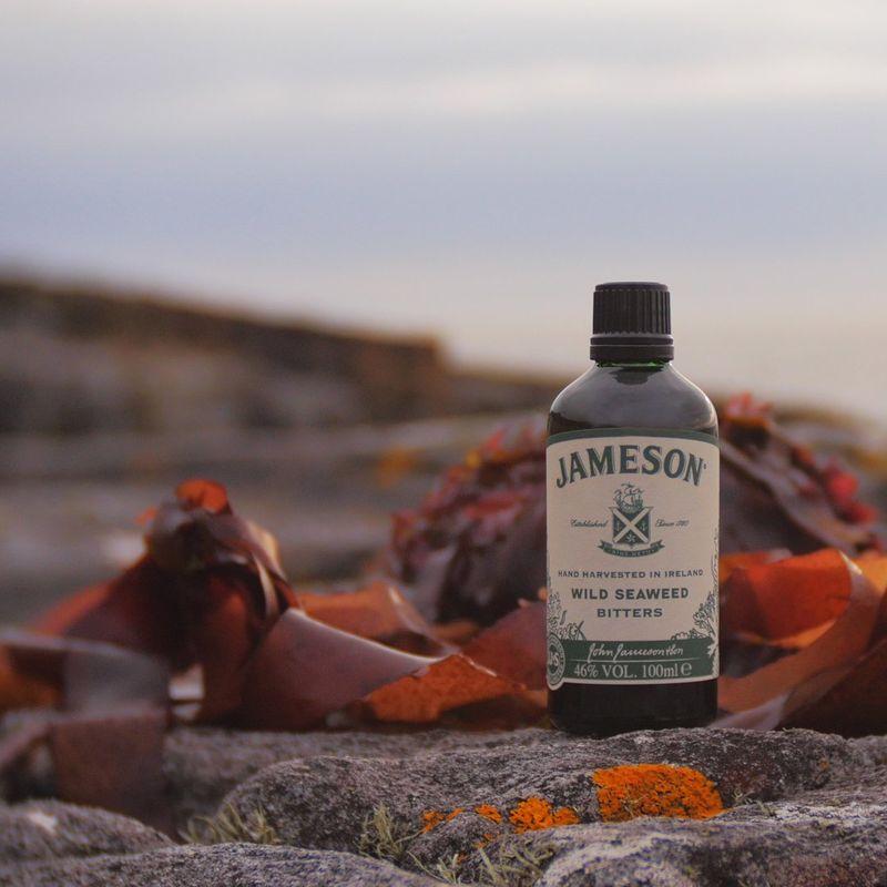 Seaweed-Based Whiskey Bitters