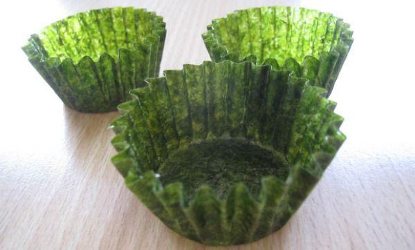 Seaweed Cupcake Wrappers