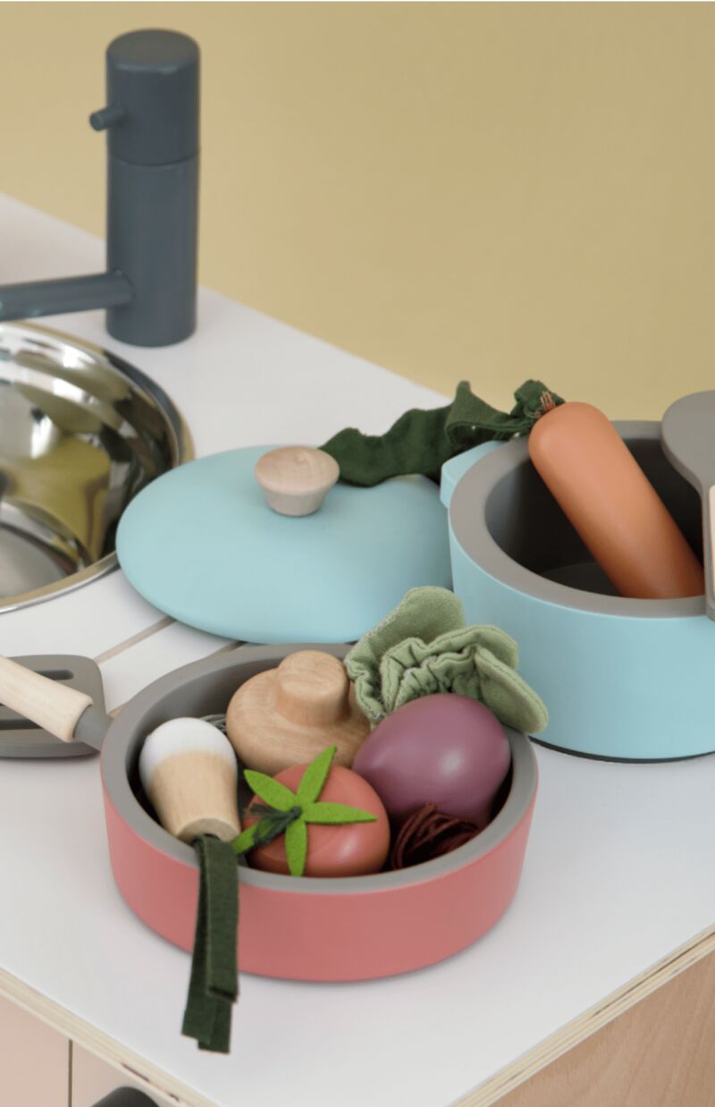 Handcrafted Vegetable-Inspired Toys