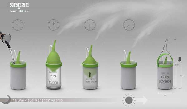 Sprout-Inspired Air Purifiers