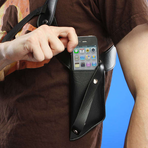 Weapon-Style Phone Holsters
