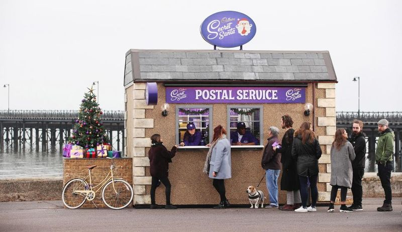 Festive Chocolate Postal Services