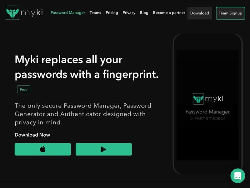 Fingerprint Password Managers