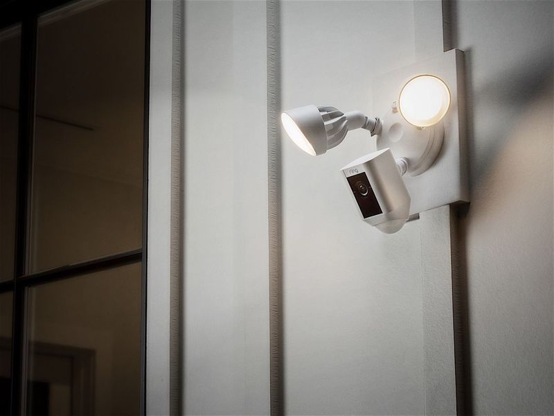 Exterior Security Camera Lights