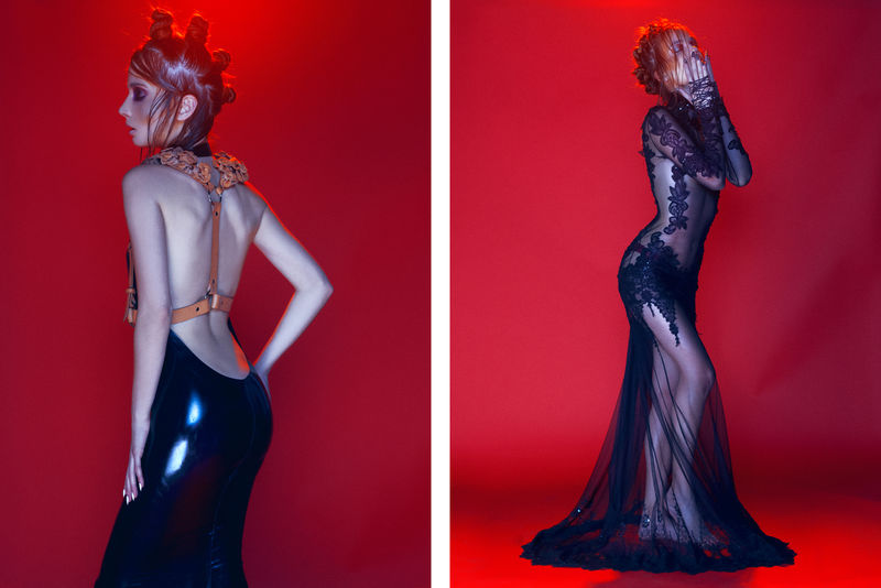 Seductive Couture Editorials