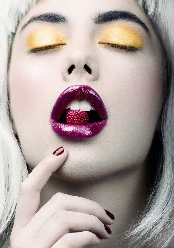 Seductive Makeup Editorials