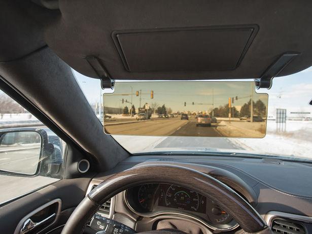 Vision-Enhancing Vehicle Visors