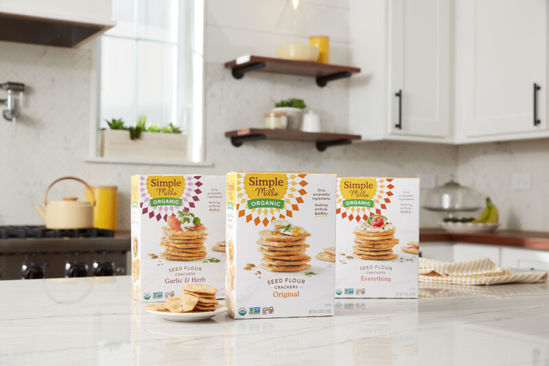 Seed Flour Crackers