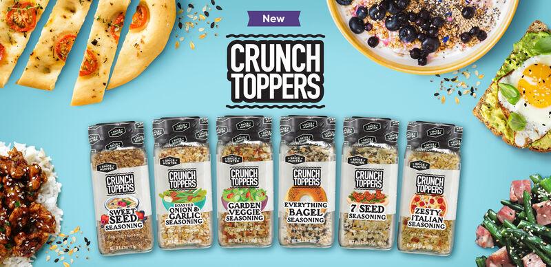Crunchy Seed-Mix Seasonings