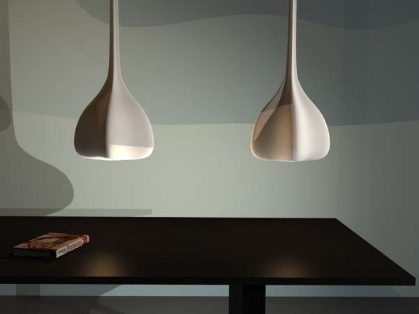 Sleek Organic Lighting Seed Pendent Lamp