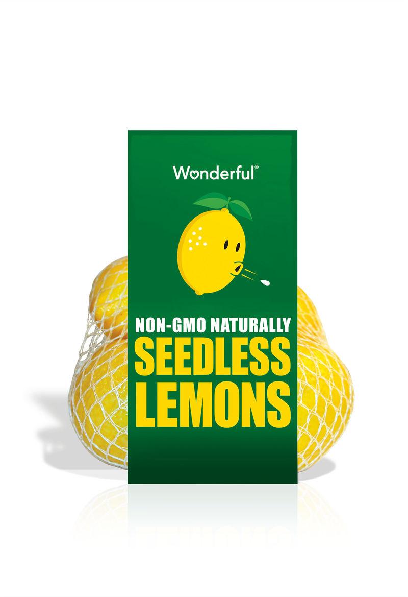 Naturally Seedless Lemons