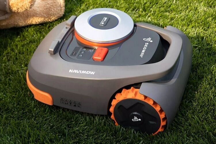 GPS-Powered Robotic Lawnmowers