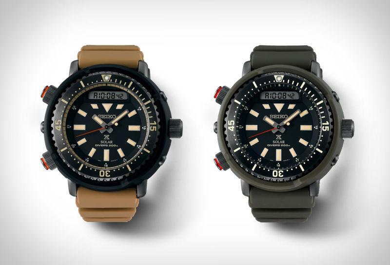 Versatile Solar-Powered Watches