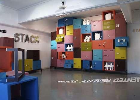 Modular Interlocking Cabinets