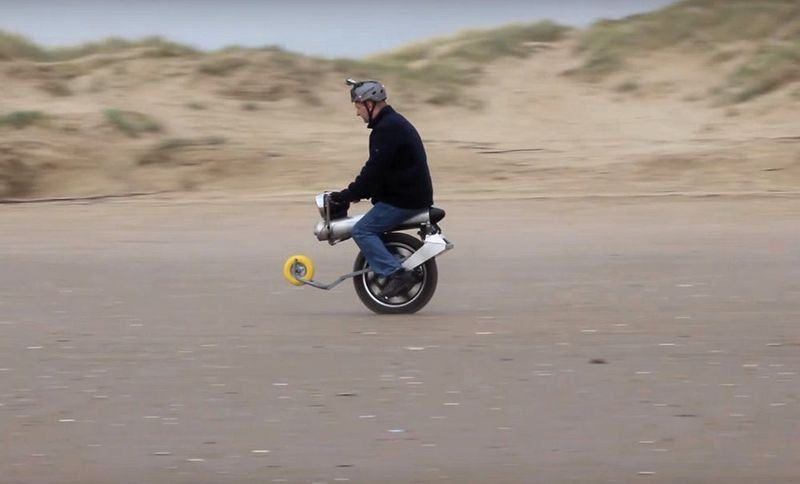 Self-Balancing Electric Unicycles