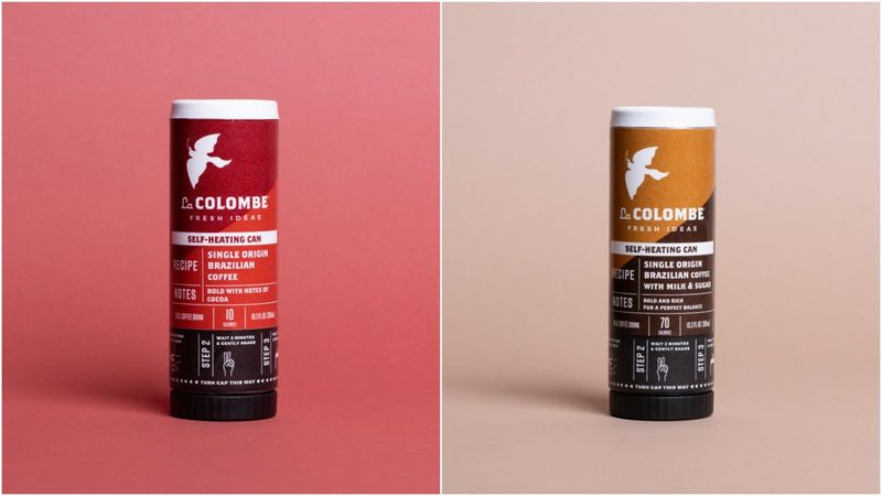 Self-Heating Coffee Cans
