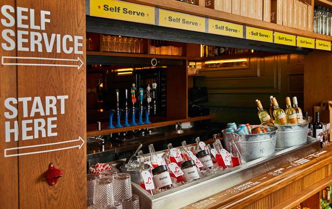Self-Serve Cocktail Bars