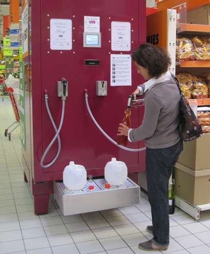 Wine-Filling Stations