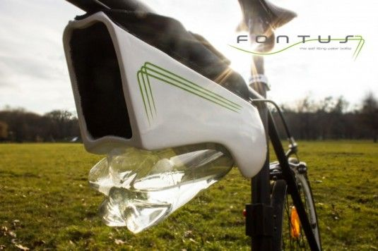 Solar-Powered Water Bottles