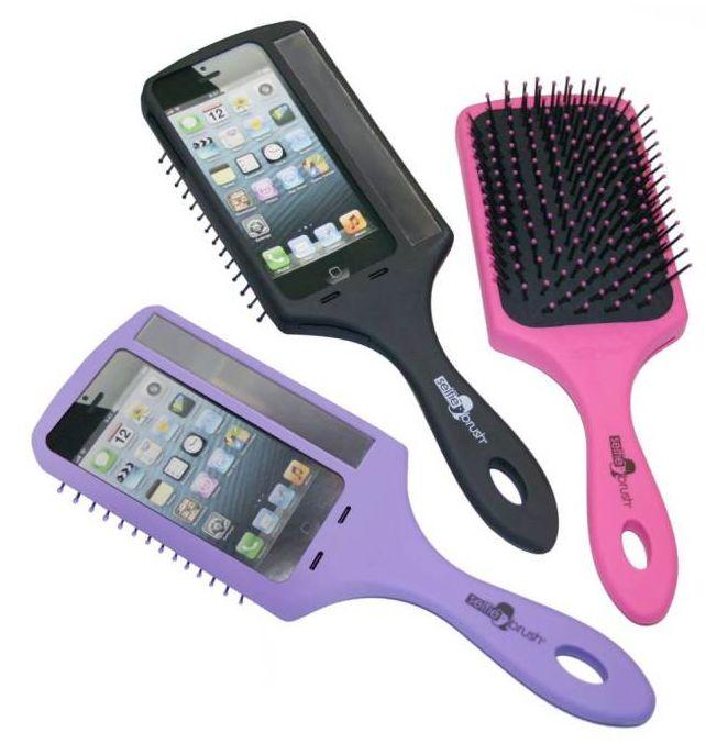 Hairbrush Handle Phone Cases