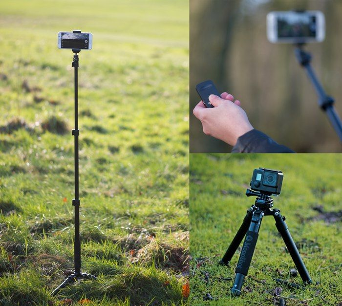 Selfie-Centric Tripods