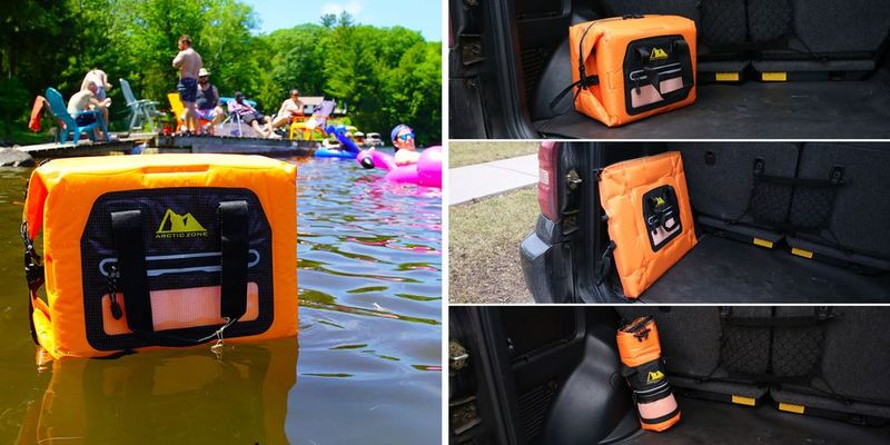 Handy Self-Inflating Coolers