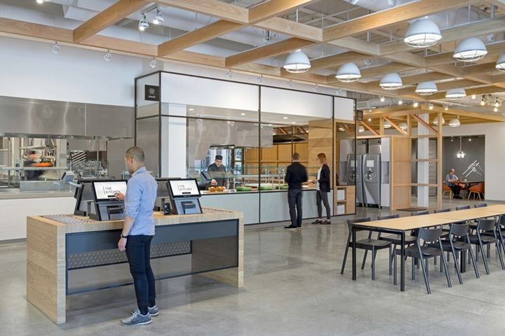 Interactive Office Food Halls