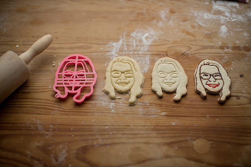 Self-Portrait Cookie Cutters