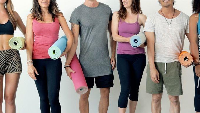 Self-Rolling Yoga Mats